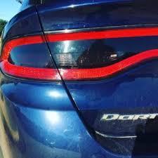 2013 dodge dart tail lights 2013 dodge dart tail light tint kit dark smoke