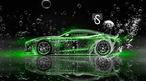 lime green aston martin aston martin vanquish water car 2014 el tony