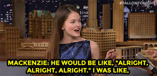 Mackenzie Meme - the tonight show starring jimmy fallon mackenzie foy heard matthew