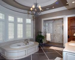 Chandelier Above Bathtub Add Style And Luxury To Your Space With A Bathroom Chandelier