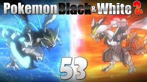 white kyurem pokémon black white 2 episode 53 catching white kyurem black
