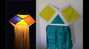 diy paper lantern using carton box for diwali decoration easy to