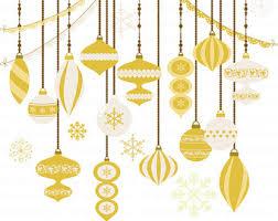 vintage christmas ornaments clipart christmas clipart christmas