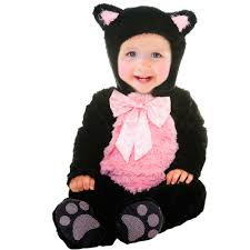 Infant Girls Halloween Costumes Kitty Cat Cutie Infant Halloween Costume Walmart