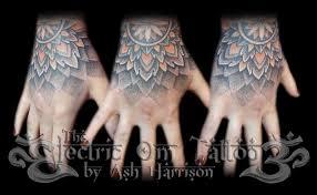 hand tattoo etiquette dotwork hand tattoo 2013 by villkat arts on deviantart