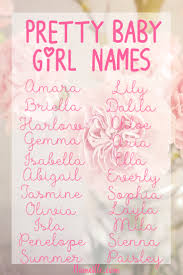 Fancy Name For Bedroom The Prettiest Pretty Baby Names For Girls Isla U0027s Name Is On