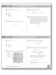 support your grade 6 students with this daily math practice week