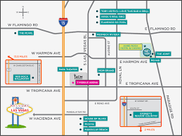 Flamingo Las Vegas Map by Locations Acm Party For A Cause