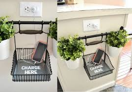 Hanging Charging Station Awesome Ikea Hack Of The Week A Convenient And Cute Phone