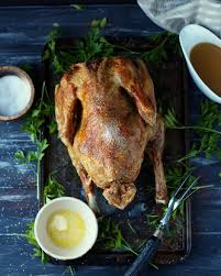 butter basted fried turkey food fry