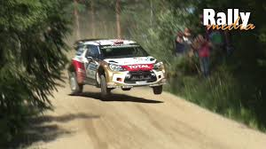 porsche rally car jump wrc rally finland 2014 jumping friday by rallymedia youtube