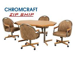 chromcraft table and chairs chromcraft furniture kitchen furniture dining room furniture at