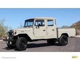 land cruiser pickup 1963 beige toyota land cruiser fj45 pickup tlc restomod 74039376