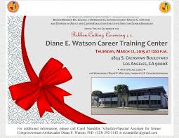 celebrate it 360 ribbon ribbon cutting ceremony for the diane edith watson career