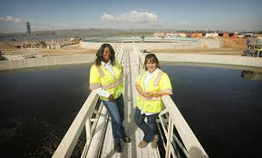 eastvale two women build careers in male dominated sewage