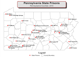 State Of Pennsylvania Map by Pccd Orespd