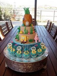 publix spongebob cupcakes google search kids party pinterest