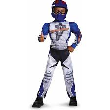 amazon com motorcycle rider toddler muscle costume large 4 6