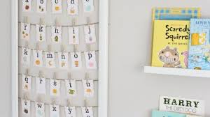 Nursery Wall Decor Letters Winsome Design Alphabet Wall Decor With Abc Chic Baby Wooden