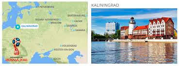 russia world cup cities map kaliningrad host city of 2018 fifa world cup in russia