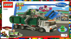 lego instructions toy story 7599 garbage truck getaway