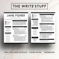 modern resume template minimal resume template modern cv