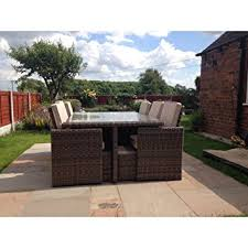 Garden Patio Furniture Sets Radeway 11 Pcs Patio Furniture Dining Set Garden