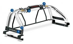 Truck Bed Light Bar Steeltiger Protective Bars