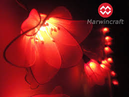 red string lights for bedroom 20 red string lights rain lilly flower fairy lights bedroom