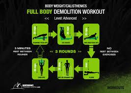 advanced calisthenics workout routine