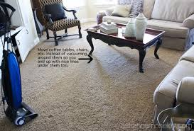 how to vacuum carpet how to make perfect vacuum lines ask anna