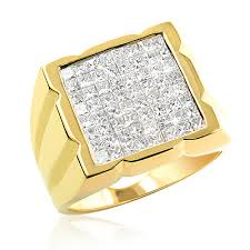 mens gold diamond rings gold diamond ring for men