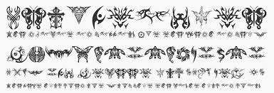 tribal tattoo font tribal tattoo typeface free fonts and web fonts