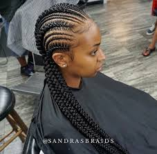small and big cornrows natural hair style braids pinterest
