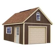 16 X 24 Garage Plans by Sierra 12 Ft X 24 Ft Wood Garage Kit With Sturdy Built Floor