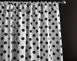 Regular Curtains As Shower Curtains Spots Curtains Etsy
