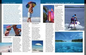 free exclusive adobe indesign magazine template designfreebies