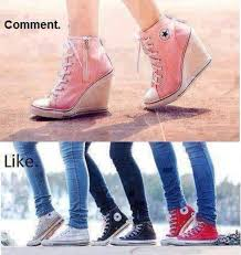 Converse High Heels Converse High Heel Shop For Converse High Heel On Wheretoget