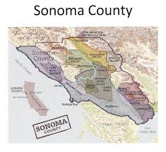 Map Of Sonoma County 2016 Sonoma County Barrel Auction The Pinotfile Volume 10 Issue 31