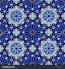 moroccan tile texture islamic seamless pattern stock vector