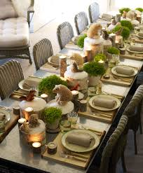 Dinner Table Decoration Peculiar Brown Wooden Table Also Table Decorideas Along With