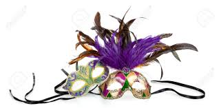 green mardi gras mask purple green and gold mardi gras masks on a white background