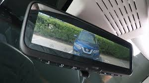 nissan armada rear nissan u0027s intelligent rear view mirror doubles as lcd monitor