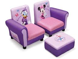 great disney minnie mouse toddler sofa chair and ottoman set for