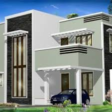 Contemporary Homes Designs 1100 Sq Ft Contemporary Style Small House House Elevation Indian