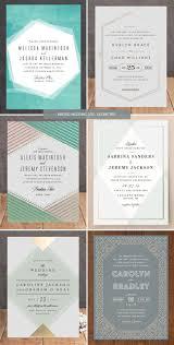 minted wedding invitations 2015 geometric paperie pinterest