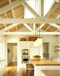 vaulted kitchen ceiling ideas vaulted ceiling lighting options cathedral ceiling lighting