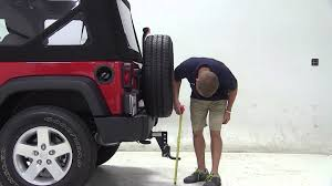 jeep wrangler height review of the maxxtow adjustable height mount on a 2013 jeep