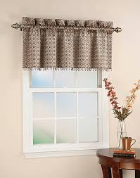Valance Window Treatments by Mallorca Spanish Tile Beaded Window Curtain Valance Curtainworks Com
