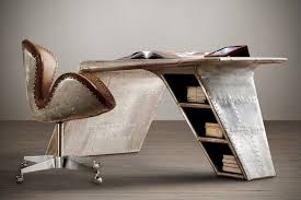 aircraft wing desk for sale alternative fact desk has one leg defies gravity cos alternative